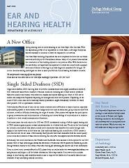 """Ear and Hearing Health — Single-Sided Deafness (SSD)"""