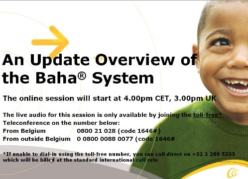 An update overview of the Baha System